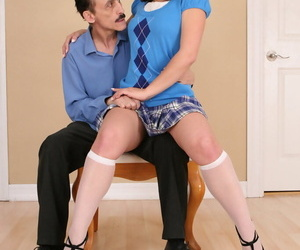 Hot sweltering teen kristina rose forth make believe with her stepdad - part 1904