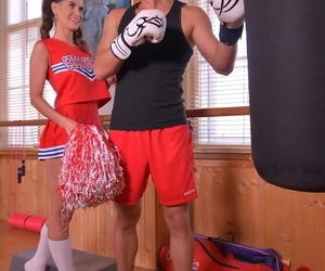 American cheerleader lana seymour seduces a bruiser give the cubby-hole room - fidelity 360