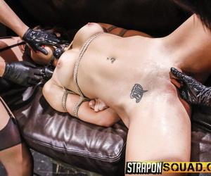 Hot and slutty marina bettor loves pansy domination threesomes - part 640