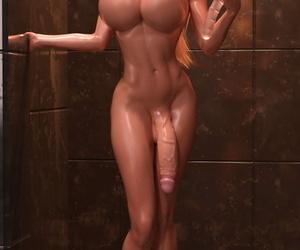 TheDude3DX Fetish Miniset - Horsecock Kayla