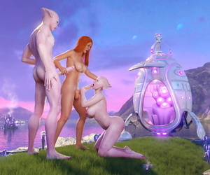 Goldenmaster Very first Contact 5 - Sheer pleasure Planet - part 6