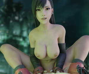Tifa Lockhart - 3D Compilation - part 2