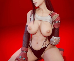 Tifa Lockhart - 3D Compilation - part 3