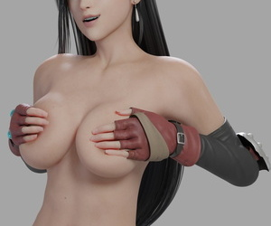 Tifa Lockhart - 3D Compilation - part 3