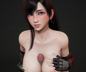 Tifa Lockhart - 3D Compilation - part 4