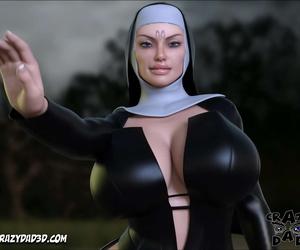 Kinky Father 3D Evil Nun 2 English - part 2