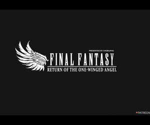 FINAL FANTASY VII / TIFA - RETURN Be fitting of A catch ONE-WINGED ANGEL CHOBIxPHO