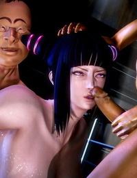 Tagosaku Netsuretsu na Fan Part 1 Street Fighter - part 2