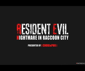 RESIDENT EVIL / JILL VALENTINE: NIGHTMARE IN RACCOON CITY CHOBIxPHO