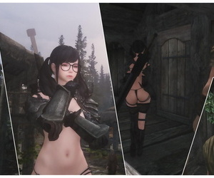 Skyrim Story——Game strategy(R18—Page17至18间里番)