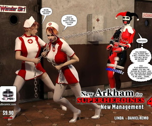 DBComix New Arkham for Superheroines 4 - New Management