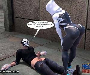 Mega Parodies Comics Collection Make tracks Gwen 1