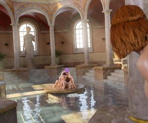 GoldenMaster Hookup Patrol: Scene 1 - Warm greek baths - part 4