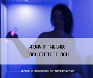 SergeantBuck A Day In The Lab: Leona Off The Clock