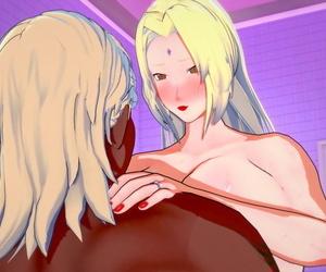 Koikatsu Tsunade becomes Raikages Wife Naruto - part 6