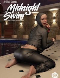 Crispycheese A Girls Diary : Midnight Swim FrenchEdd085