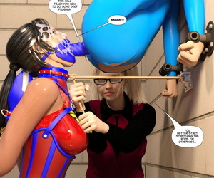 DBComix New Arkham for Superheroines 6 - Spunk Tournament - part 3
