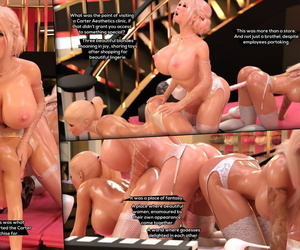 TheDude3DX Chubby Unleashed: a Sensational Lady Part 3 Comic + Images