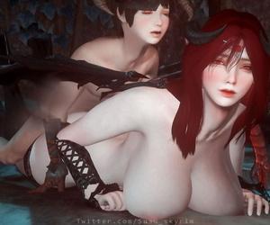susu Dragon Lady 奥杜因之女 - part 4