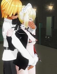 汁 セクハラクソマスターに仕えているメイドオルタ Fate/Grand Order - part 2
