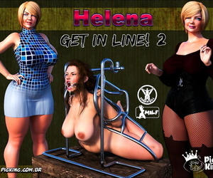 PigKing Helena get in line 2 English