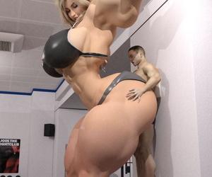 EndlessRain0110 Gym Arse 1 - part 3
