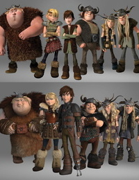 The Art of How to Train Your Dragon - The Hidden World - part 3
