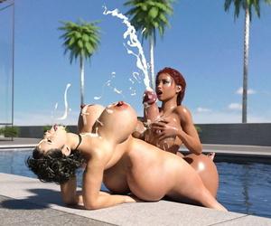 Cjflo Raw Hot Futanari Summer