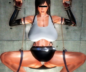 HoneySelect - Heavy ugly man vs Tifa
