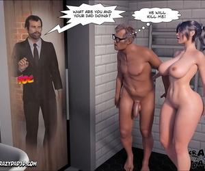 Crazy Dad 3D Dear Older Sister 5 English - part 3