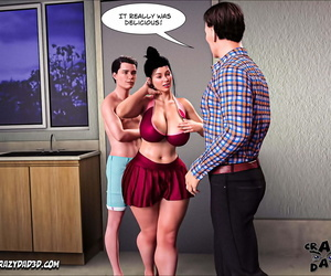Insane Father 3D Moms Help 26 English - part 3
