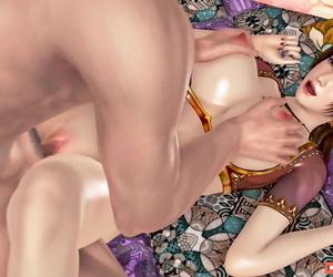 AYA3D 不知火舞 — 巨乳舞娘 - part 2