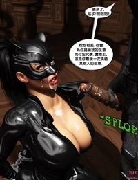 mrbunnyartCain vs Catwoman chinese