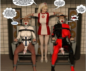 DBComix New Arkham Be required be expeditious for Superheroines 1 2nd Edition - Ignominy coupled with Turpitude be expeditious for Cleverness Piece of baggage - ornament 3