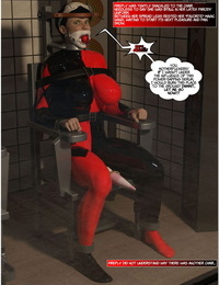 DBComix New Arkham For Superheroines 1 2nd Edition - Humiliation and Degradation of Power Girl - part 4