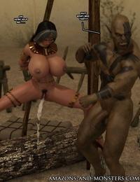 Amazons-vs-Monsters Close Allies - part 7