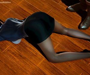 AndiGG 【Ninja lady body】美女の死体を拾って - part 5