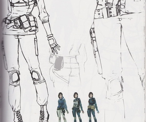 Resident Evil: The Umbrella Chronicles Artbook - part 4