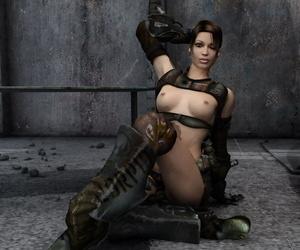 Slutty brunette girl molested by aliens - part 114
