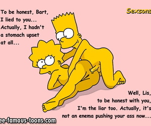 Bart together with lisa simpsons orgy - part 459