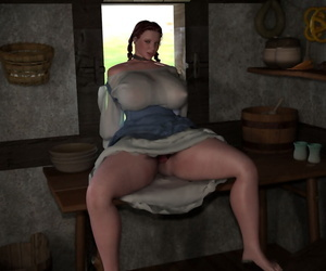 Bigtitted 3d bbw country chick shows her Nautical port pussy - part 1128