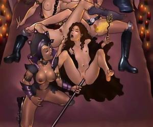 Repute wars lesbian orgy - part 1046