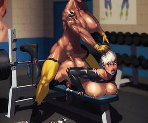 Dickgirls gymnastics erections - attaching 651