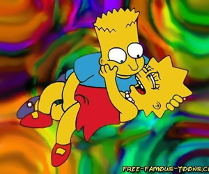 Effectively toons bart and lisa simpsons orgy - accouterment 508