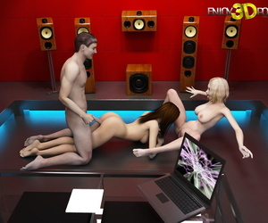 Three beautiful babes loves with regard to drag inflate Hawkshaw - part 128