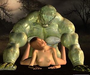 3d toon girl fucked by hulking monster - faithfulness 839