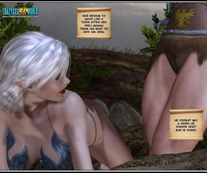 A blond elf doing xxx in these comics - part 982