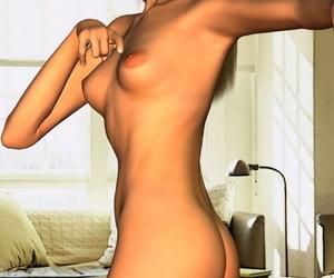 Toon girl basic poses - part 866
