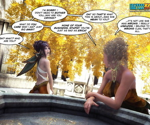 Lesbian action in thise 3d galloot - part 494