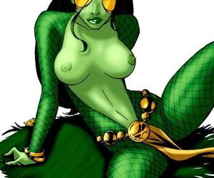 Gamora unfledged superhero intercourse - ornament 1451